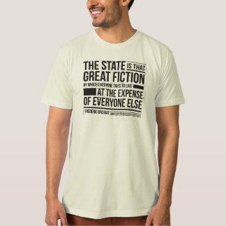 Camiseta Citações de Bastiat
