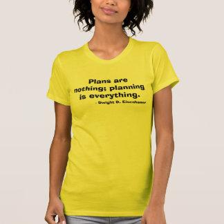 Camiseta Citações de Dwight Eisenhower