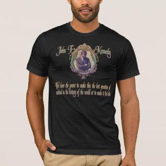 Camiseta Citações de JFK na melhor geração ou na última