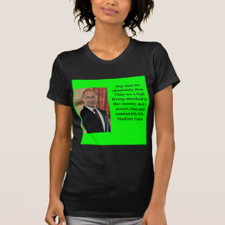 Camiseta citações de putin