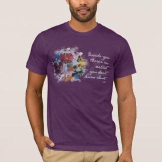 Camiseta Citações de Rumi