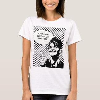 Camiseta CITAÇÕES de SARAH PALIN (entre no seus próprios)