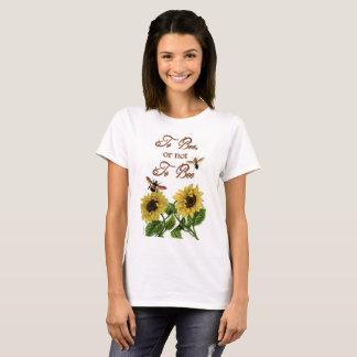 Camiseta Citações de Shakespeare à abelha a ser engraçada
