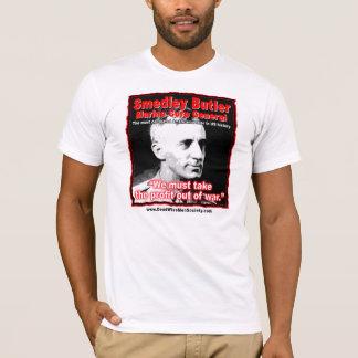 Camiseta Citações de Smedley D. Mordomo, de lucro e de