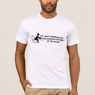 Camiseta Citações do banheiro de sexta-feira