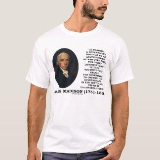 Camiseta Citações do controlo governamental próprio de