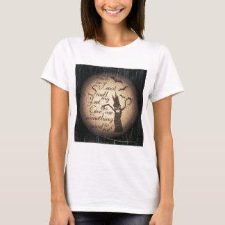 Camiseta citações do Dia das Bruxas