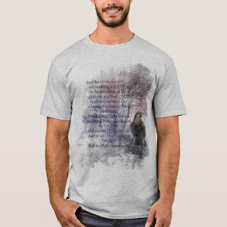 Camiseta Citações do poema do ponto de entrada de Edgar