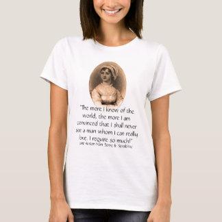 Camiseta Citações do retrato & do sentido & da