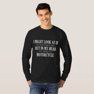 Camiseta Citações engraçadas da motocicleta