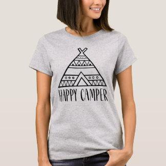 Camiseta Citações engraçadas da tipografia do campista