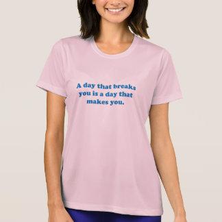 Camiseta Citações inspiradas e inspiradores da vida da