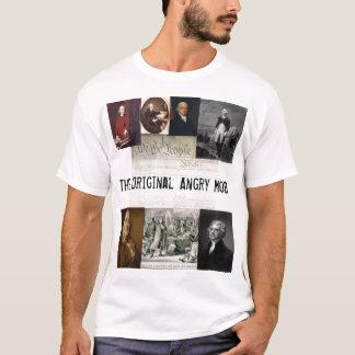 Camiseta Citações irritadas da multidão/Jefferson