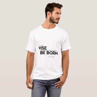 Camiseta CITAÇÕES: Rei Solomon: Quem é o homem sábio?