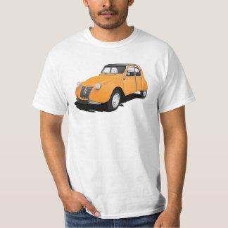 Camiseta Citroën 2CV (chevaux do deux), alaranjado