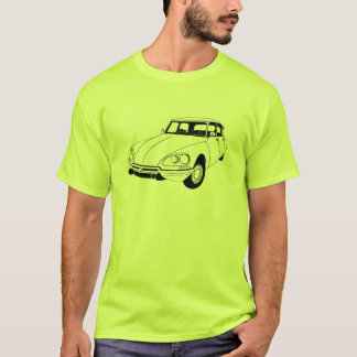 Camiseta Citroen DS inspirou o t-shirt