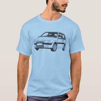 Camiseta Citroen Saxo VTS inspirou o t-shirt