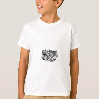 Camiseta city em 3 point perspective