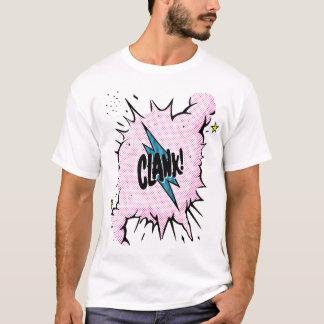 """Camiseta """"Clank!"""" T do Onomatopoeia"""