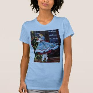 Camiseta Clara e seu t-shirt Curto-Sleeved Nutcracker