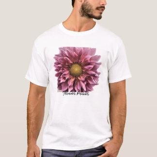 Camiseta Claridade da dália, flower power