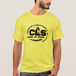 Camiseta Classe clínica da ciência do laboratório do