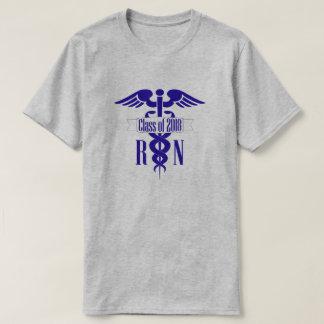 Camiseta Classe da graduação da escola de cuidados do