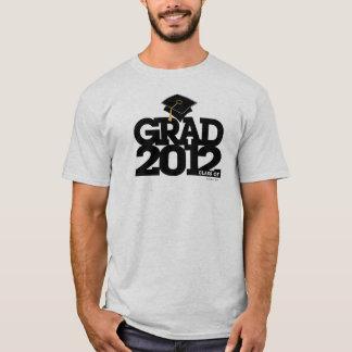 Camiseta Classe da graduação de preto do t-shirt do boné de