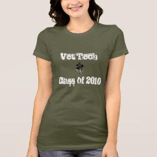 Camiseta Classe da tecnologia do veterinário de 2010