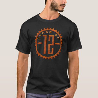 Camiseta Classe de 12 t-shirt da engrenagem