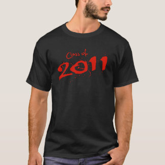 Camiseta Classe de 2011 t-shirt Spattered