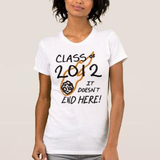 Camiseta Classe de 2012 - não termina aqui!