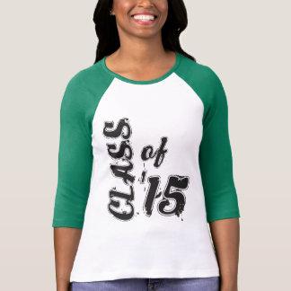 Camiseta Classe de 2015, Grunge da classe superior '15