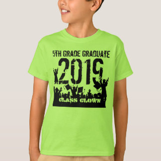 Camiseta Classe de 5o formando da categoria 2019