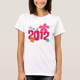 Camiseta Classe de uma graduação de 2012 hibiscus