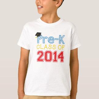 Camiseta Classe do Pre-Jardim de infância do t-shirt 2014