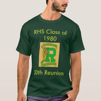 Camiseta Classe do RHS de 1980