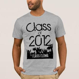 Camiseta Classe do t-shirt 2012 da graduação