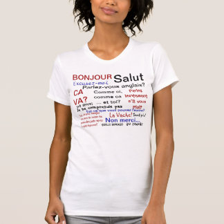 Camiseta Classe francesa - francais do parlez?