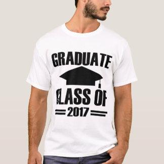 CAMISETA CLASSE GRADUADA DE 2017