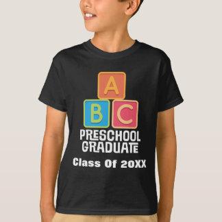 Camiseta Classe graduada do pré-escolar da graduação 2015