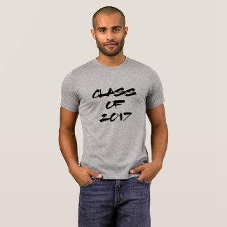 Camiseta Classe preta legal do texto | do formando 2017
