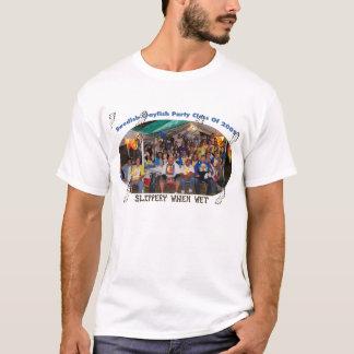 Camiseta Classe sueco do partido das lagostas de 2009