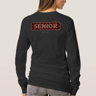 Camiseta Classe superior da serapilheira 2018 + Xadrez do
