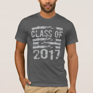 Camiseta Classe superior da tipografia 2017 legal