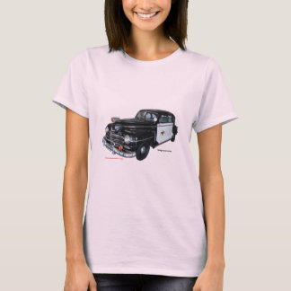 Camiseta Classic_1947_Plymouth_Police_Car_Texturized