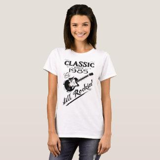 Camiseta Clássico desde 1985 - ainda Rockin