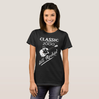 Camiseta Clássico desde 2000 - ainda Rockin