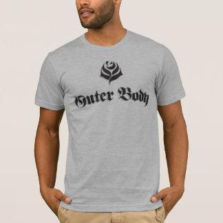Camiseta clássico exterior do corpo