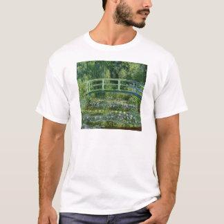 Camiseta Claude Monet - ponte japonesa